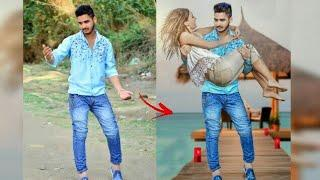 Romantic Photo Editing | PicsArt Girl Boy Photo Editing |simple Manipulation