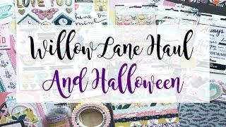 HUGE Crate Paper Willow Lane & Halloween Haul | Serena Bee Creative