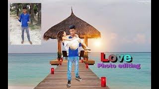 Love photo editing // Romantic love photo____Picsart photo editing Tutorial__ love girls boy
