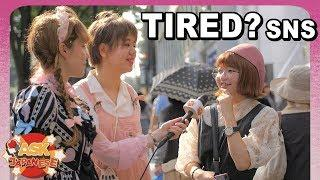 JAPAN is tired of Social Networking: Japanese girls and boys tell us why