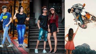 picsart editing boy with girl   Boy-girl stylish manipulation Editing tutorial