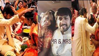 Mahathalli Wedding Pictures || Actress Jahnavi Dasetty Marriage Photos || SuWedsJaan