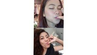 RARA DAN KAK ROSE SINGAPORE FOTO NGEMPENG BARENG, live instagram part 2