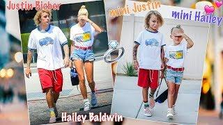 Meeting Mini Justin Bieber & Hailey Baldwin! ???? Exclusive LIVE Proposal