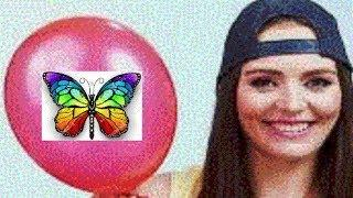 Balloon Pop - Drawing Picture Butterfly - Butterfly