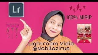 CARA EDIT FOTO SEPERTI @NABILAZIRUS - LIGHTROOM MOBILE TUTORIAL #editnabilazirus By Indah