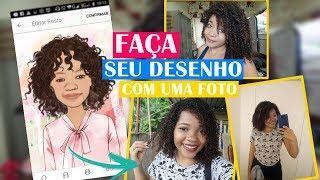 FAÇA SEU DESENHO COM UMA FOTO SUPER FÁCIL