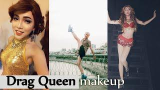 Drag queen makeup transformation boy to girl photos / Makeup ✔