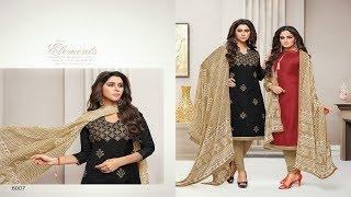 CHANDERI+COTTON SUITS COLLECTION ???????????? || KAPIL TRENDZ #269