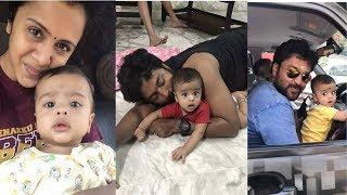 VJ Anjana Rangan With Her Baby Boy & Husband Unseen Photos