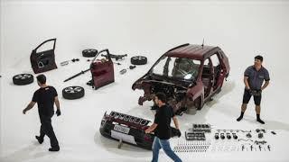 Longa Duração: veja como foi o desmonte do Jeep Compass