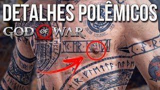 GOD OF WAR : MODO FOTO - DETALHES INCRÍVEIS DE BALDUR
