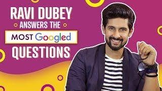 Ravi Dubey Answers the Most Googled Questions | Pinkvilla | Bollywood