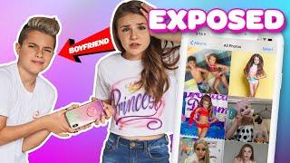 My Boyfriend REACTS to my Camera Roll **EXPOSED**????????| Piper Rockelle
