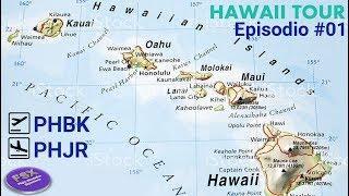 [*** XPLANE11 ***] [FSE] Tour pelo Hawaii - Belíssimos cenários nos aguardam | PHBK ✈ PHJR