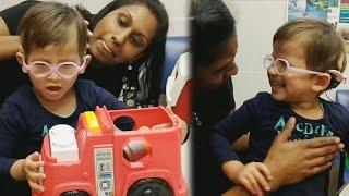Hearing-Impaired Girl Says 'I Love You' to Mom After She Gets Cochlear Implants