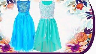 10 Beautiful Dress Gown  For Baby Girls Kids images 2019 amazon YOUTUBE KIDS