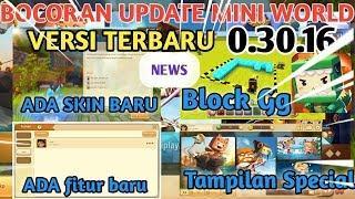 Bocoran Update Mini World  0.30.16 NEWS Skin,Tunggangan,Bingkai Foto Natal,Area Duplicate