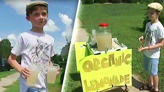 Lowe's Donates Lawnmower to Boy After He's Robbed at Gunpoint Selling Lemonade