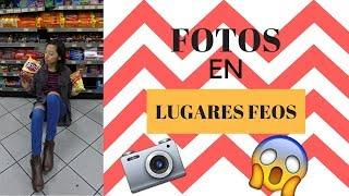 CREANDO FOTOS GOALS EN LUGARES FEOS| Ugly Location Photoshoot Challenge