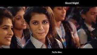 Priya Prakash = Good Night ,, Romantic WhatsApp Status