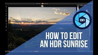 How to Edit an HDR Sunrise - ON1 Photo RAW