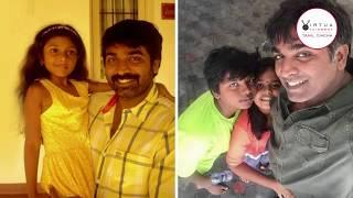 Vijay Sethupathi Family Photos : Actor Vijay Sethupathi Family Photo Collection