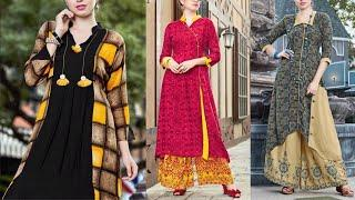 Modern kurti collection | New design kurti images / photos for 2018 | New fancy kurti design