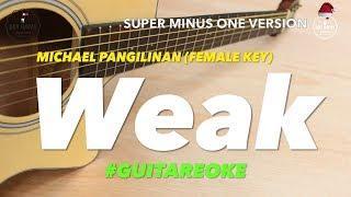 Michael Pangilinan Weak female key acoustic minus one cover