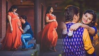 Singer Krishna Chaitanya wife Mrudula Maternity photoshoot photos