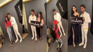 Hasnain Khan Live Photo Shoot With Fans At Celebrity Face in Kolkata   Girl Porpose Hasnain Khan  