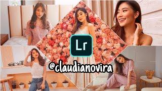 Edit Foto ala Selebgram @claudianovira Lightroom Mobile | FEED INSTAGRAM PEACH KEKINIAN