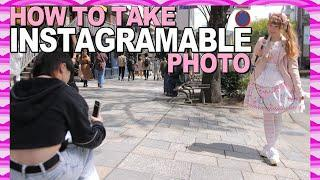 How to Take GREAT Instagramable Photos in Japan