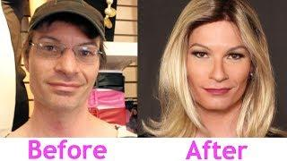 Male to Female Transformation: Rachel's Day at Trans Spa