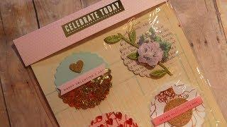 Happy Mail | Valentine Card Candy Embellishments