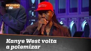 Rapper americano Kanye West volta a causar polêmica