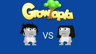 Boy Set VS Girl Set challenge | Growtopia