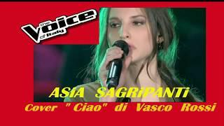 "the Voice , ASiA  SAGRiPANTi , ""ciao"" di Vasco Rossi ,  Live-RmX"