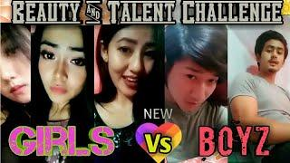 Manipur funny n talented Beautiful Boys vs Girls|| 2018