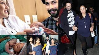 Shahid Kapoor & Mira Rajput Kapoor Son Pics