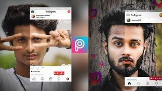 Instagram Viral Photo Editing Tutorial in PicsArt | Manipulation Editing Tutorial