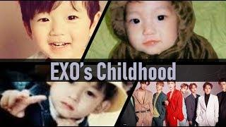 EXO Childhood Photo Collection: Pre-debut Photos [goyangii kat]