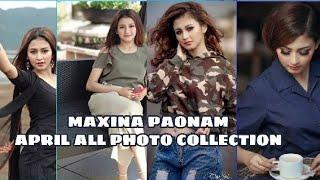 Maxina Paonam |New look April Photo Collection |Native Manipur |Comment ur favourite Foto |2018|
