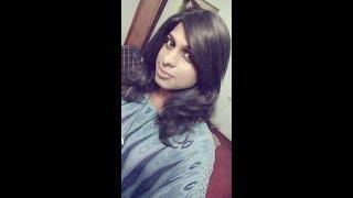 Indian Beautiful Crossdressers Wearing Saree 2 | Boy To Girl Transformation | Feminine Boys Vlog