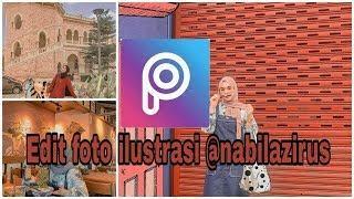 CARA EDIT FOTO @NABILAZIRUS || CARA EDIT ILUSTRASI @NABILAZIRUS