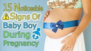 "15 Noticeable Symptoms of ""Baby Boy"" during Pregnancy, Find Out Your BABY's GENDER Now!"