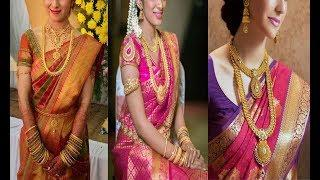 Latest South Indian Bridal Traditional  Jewellery Designs