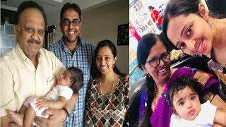 Singer Malavika With Her Baby Girl Latest Unseen Photos Aone