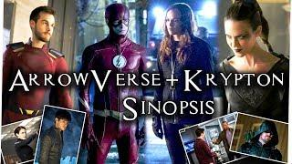 Super Girl 3x18 - The Flash 4x22 - Krypton 1x09 - Arrow 6x23 Sinopsis + Imágenes Promocionales