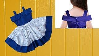 Diy Designer  Baby Frock For 3 to 4 year baby girl Full Tutorial